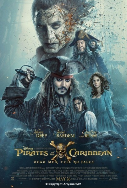 Pirates Of The Caribbean Dead Men Tell No Tales (2017)